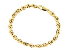 BOB C. Damen Armband 14 Karat (585) Gelbgold -