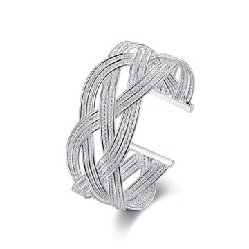 Damen-Armreif Sterling-Silber 925, offen -