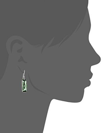 Elements Damen-Ohrhänger 925 Sterling Silber Swarovski-Kristall grün E4578G -
