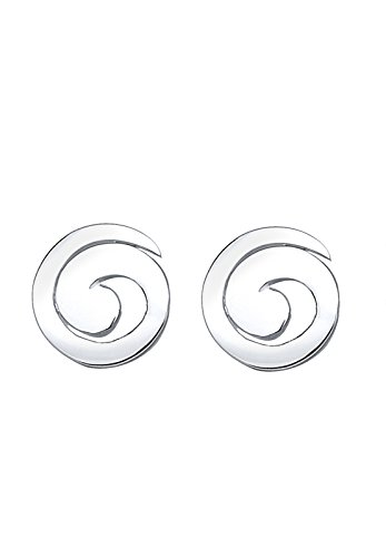 Elli Damen-Ohrstecker, Spirale 925 Sterling Silber 3200018 -