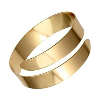 Gazechimp Klassisch Armreif Armband Oberarmreif Armbänder Armreifen Schmuck Gold -