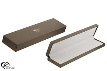 Goldarmband mit Zirkonia 585 Weißgold in 14 Karat Damen Armband ca. 19 cm Schmuck 3428 -