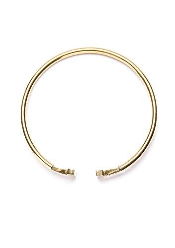 Happiness Boutique Damen Offener Armreif Gold Titan | Armband Minimalist Armschmuck für Frauen -