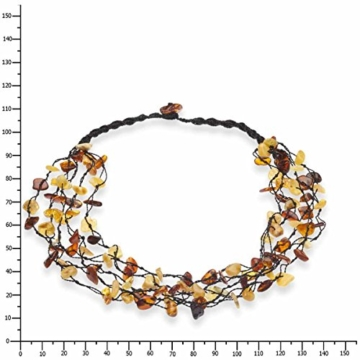 InCollections Damen-Bernsteinkette 46 cm 071044B023570 -