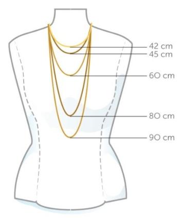 InCollections Damen-Halskette 925/000 Sterlingsilber Panzerkette 1,3 mm breit 50 cm 051029C040200 -