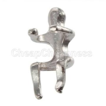 Kreativ Naked Climber-Ohr-Stulpe Helix Silber Ohrknorpelkletter Villain Ohrclip -