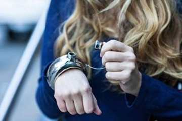 maaryee Armreif/Armband Edelstahl Flachmann Und Trichter silber -