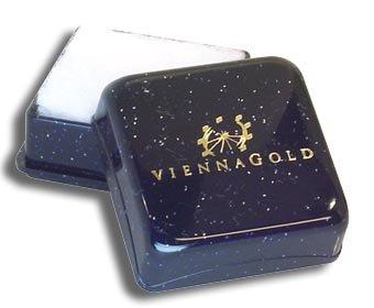 Ohrstecker per Stück echt 14 Karat Gold 585 mit Saphir 3mm (Art 602006/811167) -