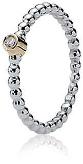Pandora Damen-Ring 58 (18.5) 14 Karat (585) Gelbgold  KASI 19214D-58 -