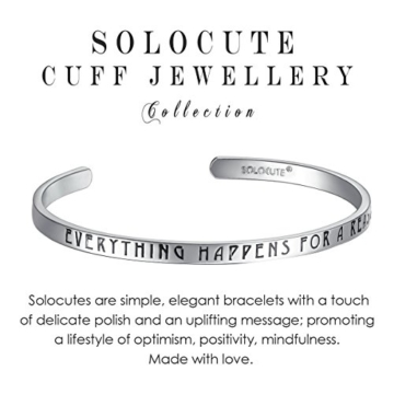 SOLOCUTE Silber Damen Armband mit Gravur
