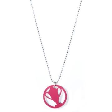 Lacoste Damen-Halskette rosa 700929999L1 -