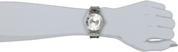 Swatch Damen-Armbanduhr Skin Climber Flowery Analog Quarz Sfk 300G -