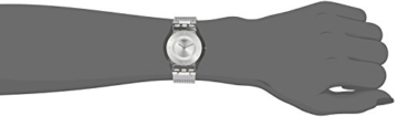 Swatch Damenuhr Analog Quarz mit Edelstahlarmband – SFM118M -