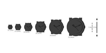 Swatch Damenuhr Analog Quarz mit Kautschukarmband – SUOB702 -