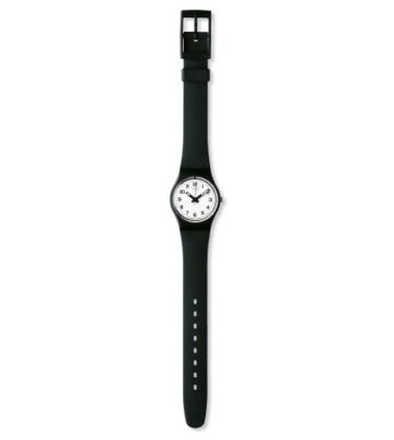 Swatch Damenuhr Analog Quarz mit Plastikarmband – LB 153 -