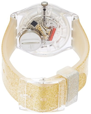 Swatch Damenuhr Digital Quarz mit Silikonarmband – GE242C -