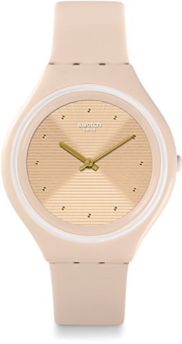 Swatch Damenuhr Digital Quarz mit Silikonarmband – SVUT100 -