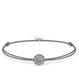 Thomas Sabo Damen-Armband 925 Silber Zirkonia weiß 0.70 cm - LS022-378-5-L20v -