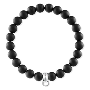 Thomas Sabo Damen-Armreifen Künstliche Perle X0219-023-11-L18,5 -