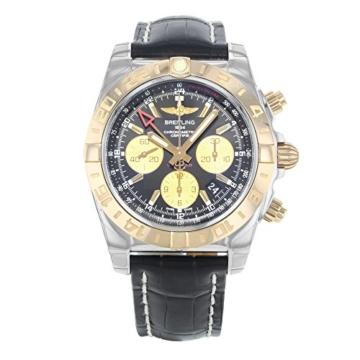 Breitling Chronomat 44GMT cb042012/BB86–743P Gold & Stahl automatische Herren Armbanduhr - 2