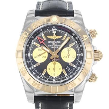 Breitling Chronomat 44GMT cb042012/BB86–743P Gold & Stahl automatische Herren Armbanduhr - 3