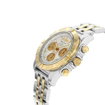 Herren-Armbanduhr 41 mit automatischem Uhrwerk und 18K rotgoldenem und silberfarbenem Zifferblatt. - 2
