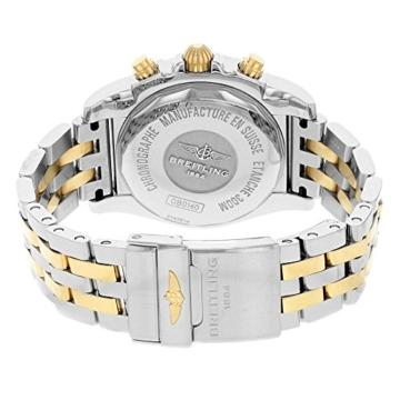 Herren-Armbanduhr 41 mit automatischem Uhrwerk und 18K rotgoldenem und silberfarbenem Zifferblatt. - 3