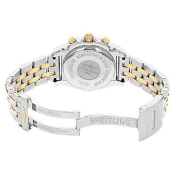 Herren-Armbanduhr 41 mit automatischem Uhrwerk und 18K rotgoldenem und silberfarbenem Zifferblatt. - 4