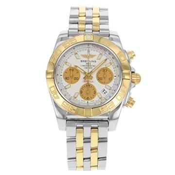 Herren-Armbanduhr 41 mit automatischem Uhrwerk und 18K rotgoldenem und silberfarbenem Zifferblatt. - 1