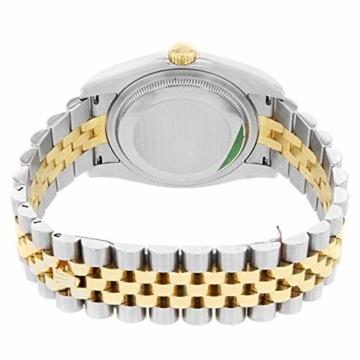 Rolex Datejust 116233BKJDJ Herren-Armbanduhr, 18 Karat Gelbgold, Stahl - 6