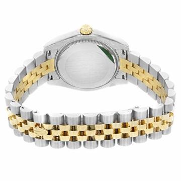 Rolex Datejust 178273 Uhr Stahl Gelbgold Diamant Silber Diamant Mittelgröße - 6