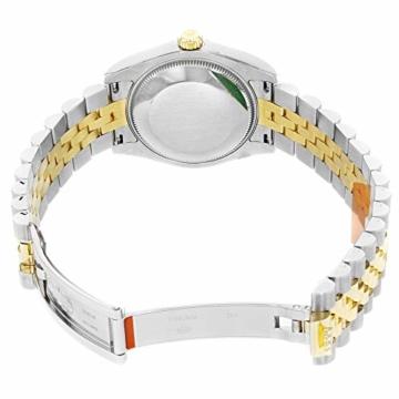 Rolex Datejust 178273 Uhr Stahl Gelbgold Diamant Silber Diamant Mittelgröße - 7